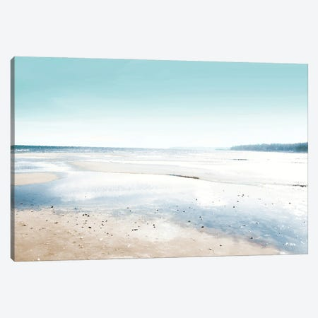 Coastal Waters Canvas Print #KAW13} by Kali Wilson Canvas Print