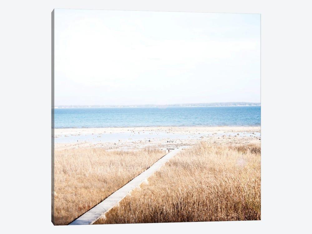 Grassy Shore by Kali Wilson 1-piece Canvas Print