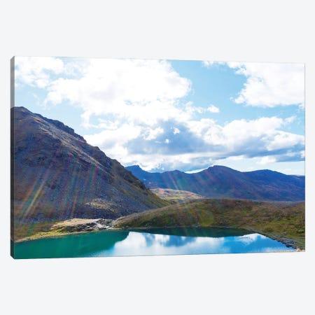Mountain Lake Canvas Print #KAW16} by Kali Wilson Canvas Artwork