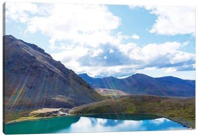Mountain Lake Canvas Art Print