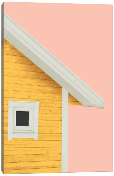 Summer Cabin Canvas Art Print