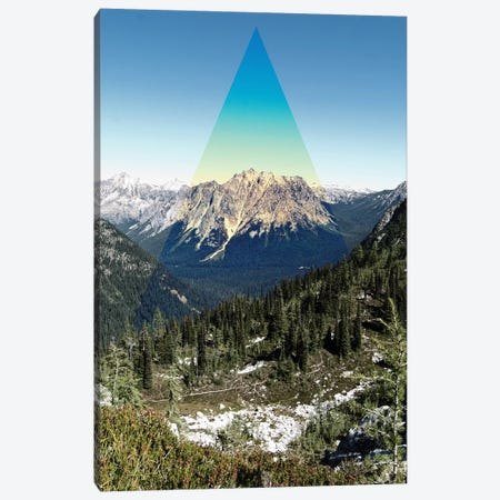 Mountain Peak Canvas Print #KAW3} by Kali Wilson Art Print