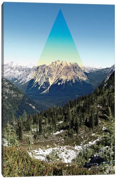 Mountain Peak Canvas Art Print
