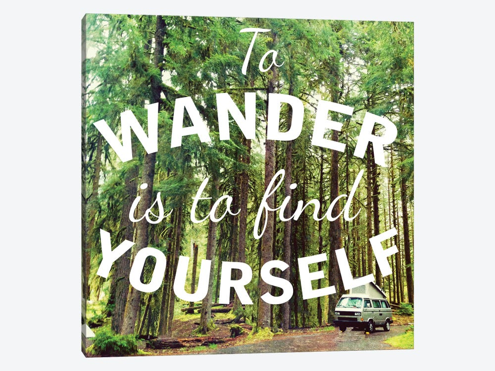 Wandering to Find Yourself by Kali Wilson 1-piece Canvas Print