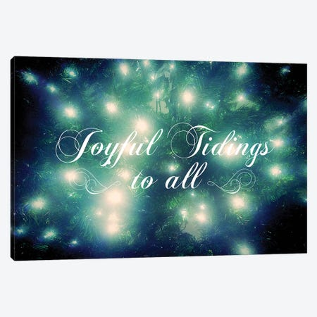 Joyful Tidings Canvas Print #KAW6} by Kali Wilson Canvas Artwork