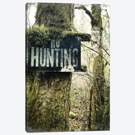 No Hunting Canvas Print #KAW9} by Kali Wilson Canvas Art Print