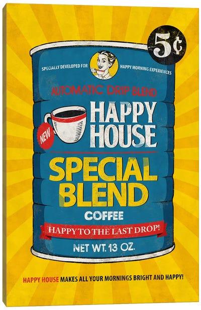 Happy House Canvas Art Print