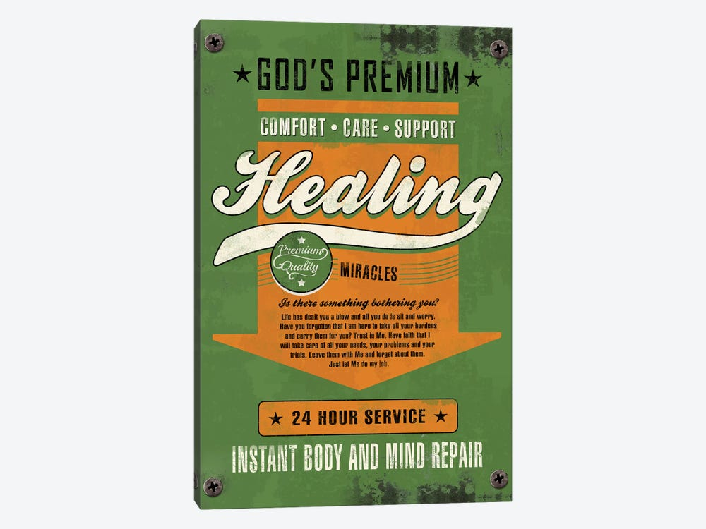Healing Miracles by Ester Kay 1-piece Art Print