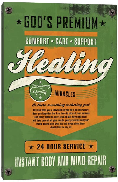 Healing Miracles Canvas Art Print