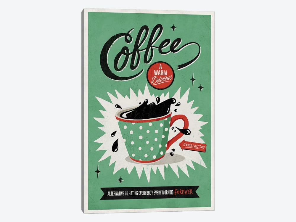 Saved By Coffee by Ester Kay 1-piece Canvas Art