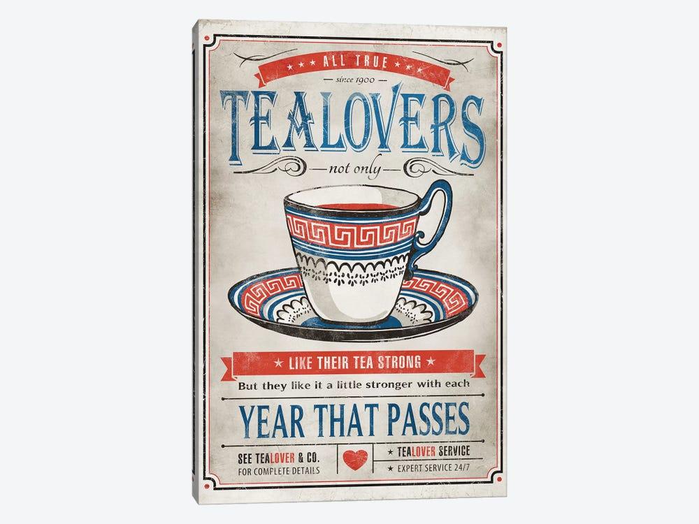 Tea Lovers by Ester Kay 1-piece Canvas Art Print