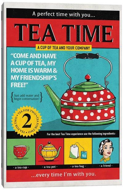 Tea Time Canvas Art Print