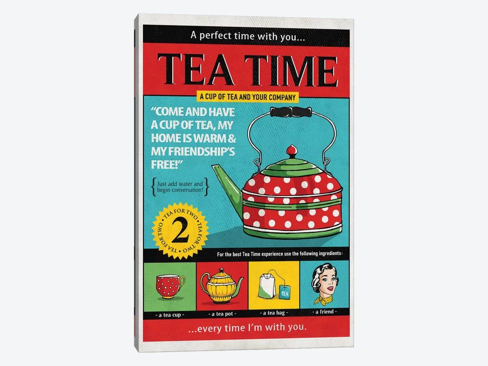 Tea Time by Ester Kay 1-piece Canvas Print