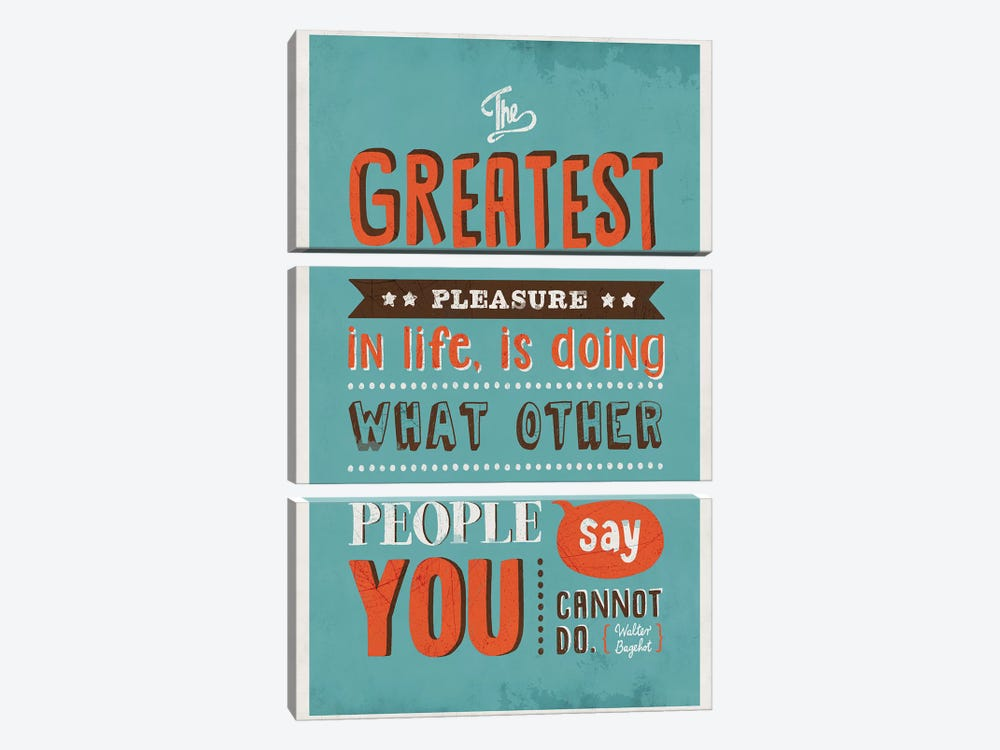 The Greatest Pleasure by Ester Kay 3-piece Canvas Artwork