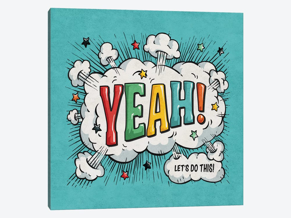 Yeah by Ester Kay 1-piece Canvas Wall Art
