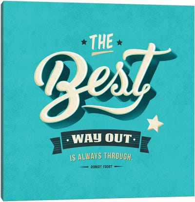 Way Out Canvas Art Print