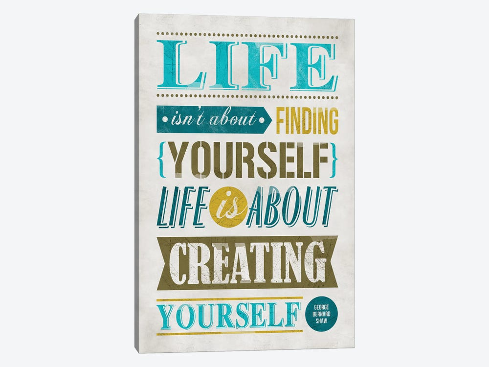 Create Yourself by Ester Kay 1-piece Canvas Art Print
