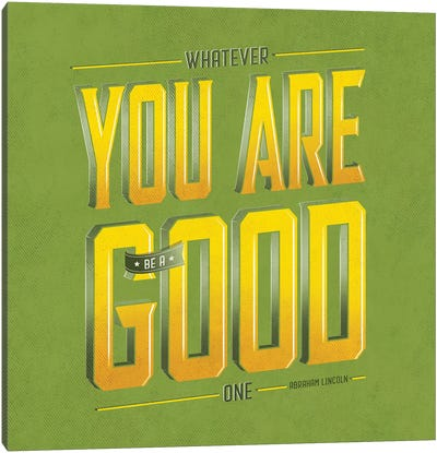 You Are Good Canvas Art Print