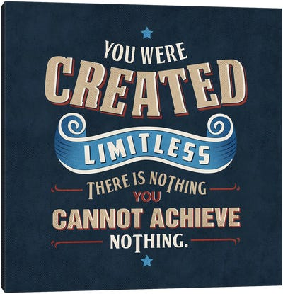 You Are Limitless Canvas Art Print