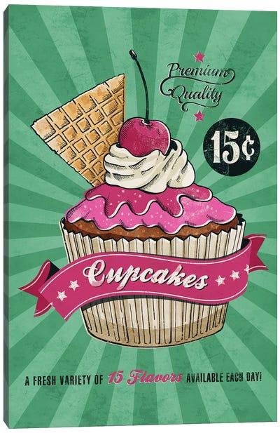 Cupcake Canvas Art Print