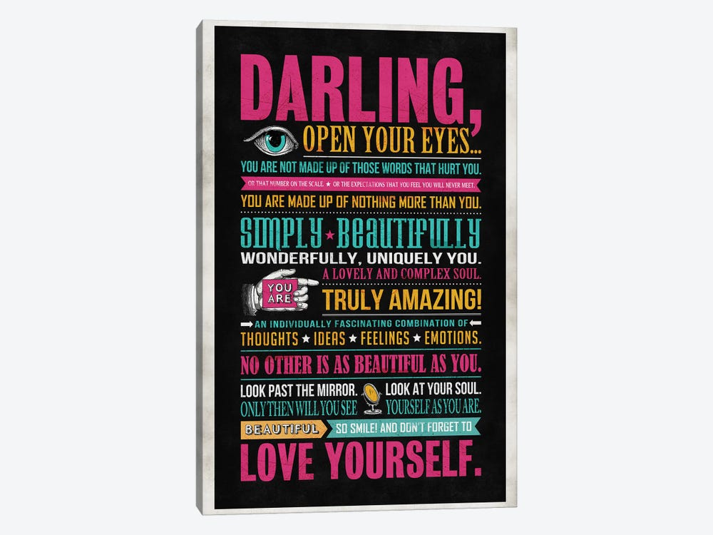 Darling by Ester Kay 1-piece Canvas Art Print