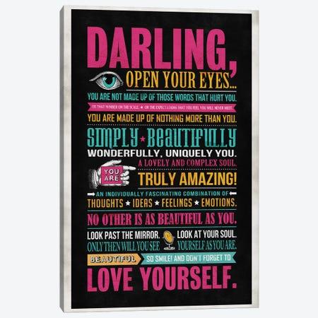 Darling Canvas Print #KAY7} by Ester Kay Canvas Art