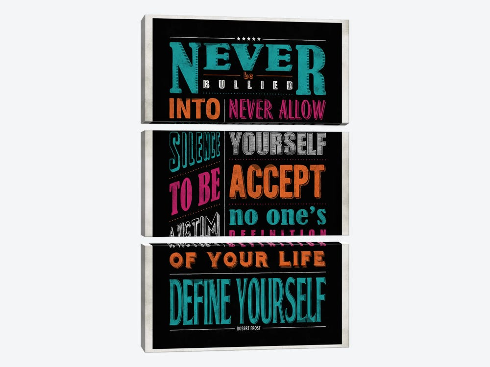 Define Yourself by Ester Kay 3-piece Canvas Art