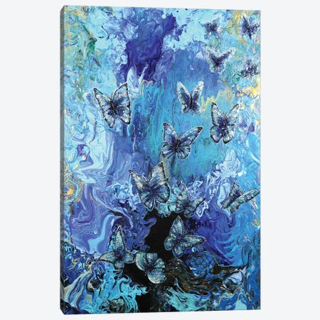 Out Of Depths Canvas Print #KBA43} by Karin Brauns Canvas Artwork