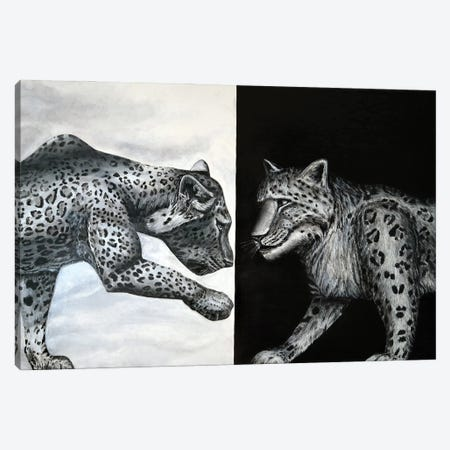 Dots Canvas Print #KBA54} by Karin Brauns Canvas Wall Art