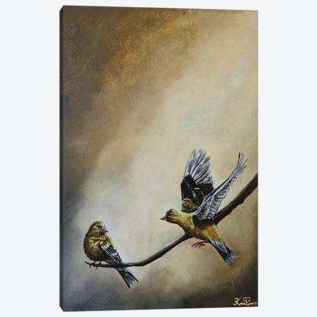 Meet Me At The Golden Hour Canvas Print #KBA61} by Karin Brauns Canvas Artwork