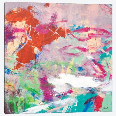 Taste The Sweetness In The Air Canvas Print #KBC107} by Kerri McCabe Canvas Art