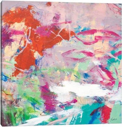 Taste The Sweetness In The Air Canvas Art Print