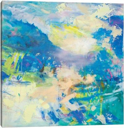 The Hills Will Leap Joyously Canvas Art Print