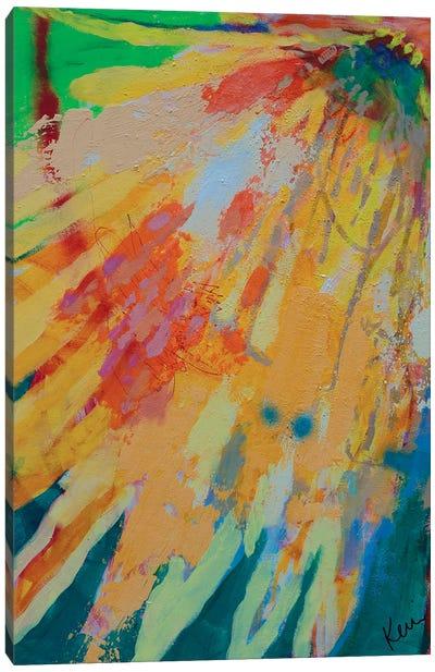 Melt Into A Sun Canvas Art Print