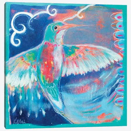 Free Spirit Canvas Print #KBC12} by Kerri Blackman Art Print