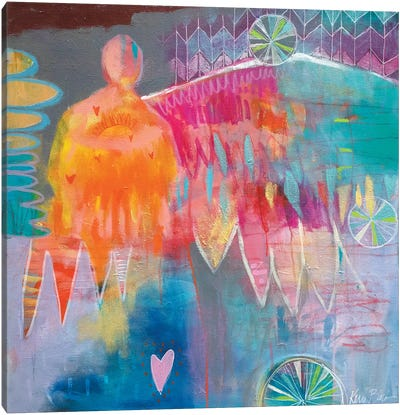 Give Us Warm Hearts Canvas Art Print