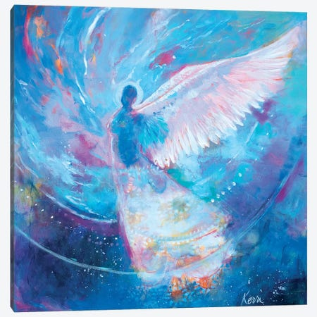 I Remember Flying Dreams Canvas Print #KBC17} by Kerri Blackman Canvas Wall Art
