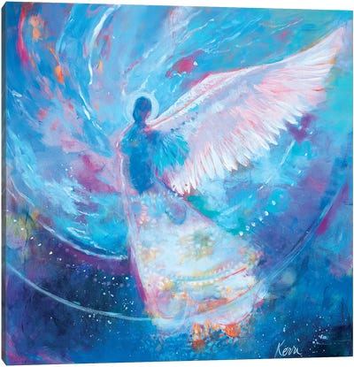 I Remember Flying Dreams Canvas Art Print