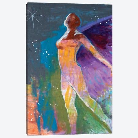 I Will Fly Again Canvas Print #KBC18} by Kerri Blackman Art Print