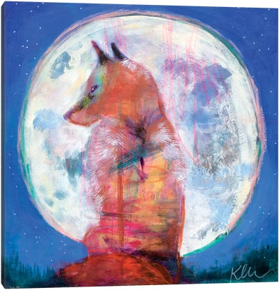 Moon Rise Canvas Art Print