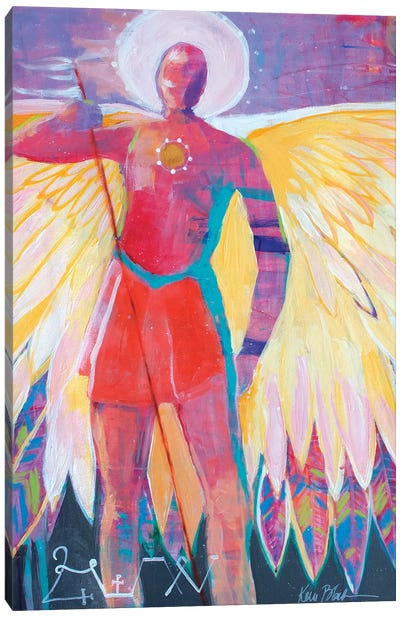 Angel Of The Sun Canvas Art Print