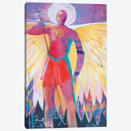 Angel Of The Sun Canvas Print #KBC2} by Kerri Blackman Canvas Art Print