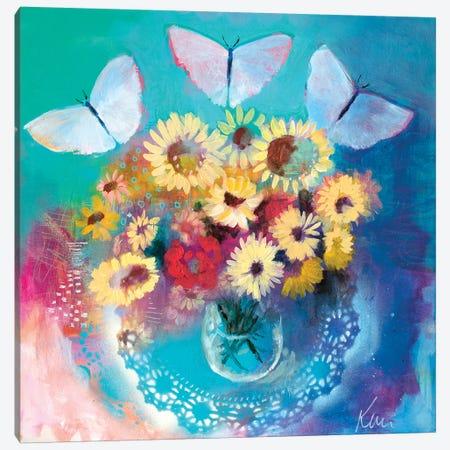 Summer's Gratitude Canvas Print #KBC34} by Kerri Blackman Canvas Art