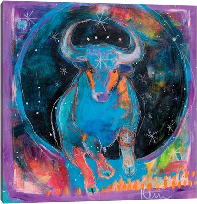 Taurus Canvas Art Print