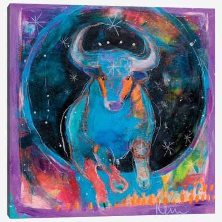 Taurus Canvas Print #KBC36} by Kerri Blackman Canvas Artwork