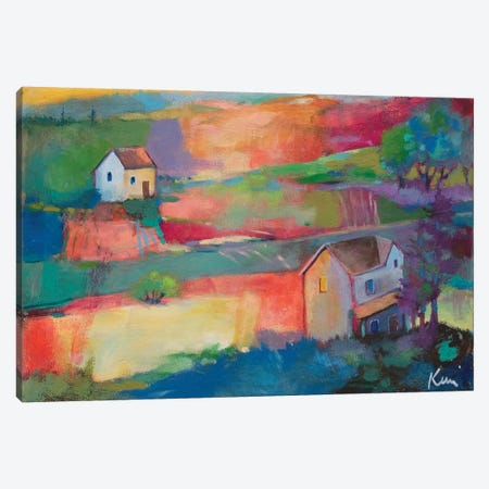 Morning Holds A Pormise Canvas Print #KBC56} by Kerri Blackman Canvas Art
