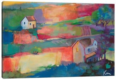 Morning Holds A Pormise Canvas Art Print