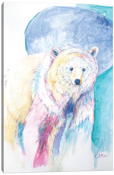 Bear's Wander Canvas Art Print