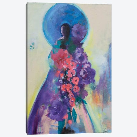 Offering Abundance Canvas Print #KBC61} by Kerri McCabe Canvas Artwork