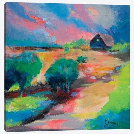 You Know The Way Home Canvas Print #KBC64} by Kerri Blackman Art Print